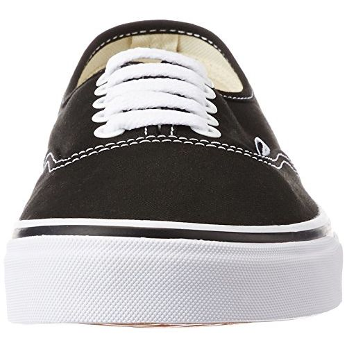 Vans Unisex Authentic Black Sneakers - 8 UK/India (42 EU) (VN000EE3BLK1)