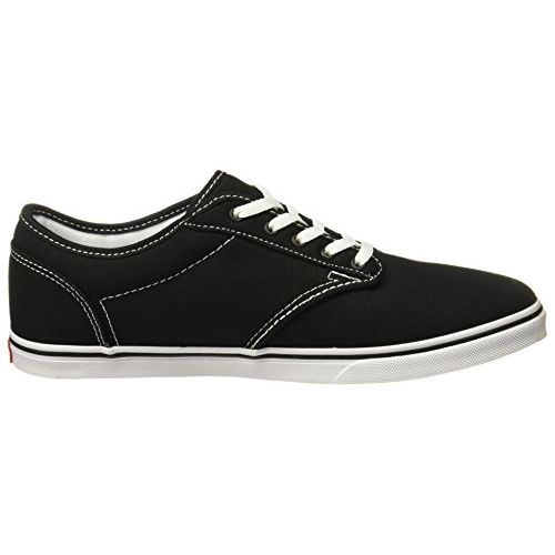 Vans Women's Atwood Low (Canvas) Black/White Sneakers-5.5 UK/India (38.5 EU) (VN0A3UHC1871)