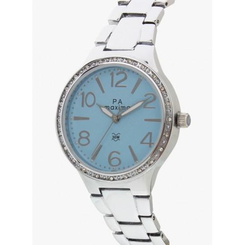 maxima Blue Analogue Watch