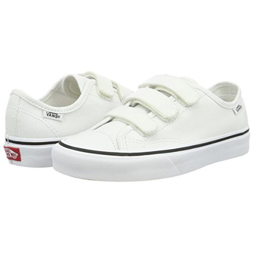 Vans Unisex Style 23 V (Canvas) True White Sneakers - 9 UK/India (43 EU) (VN0A38GCL5R1)