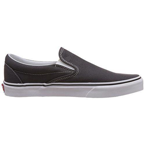 Vans Unisex Charcoal Loafers and Mocassins - [6 UK (39 EU) (8.5 US) M/6 UK (39 EU) (7 US) W]