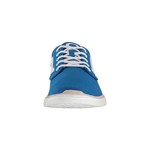 Vans Unisex Iso 2 (1966) Blue and True White Sneakers - 9 UK/India (43 EU)