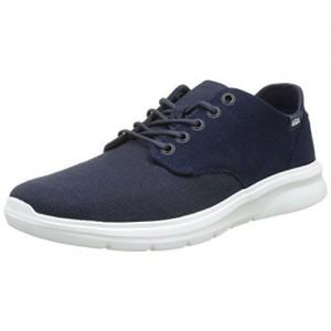 Vans Unisex Iso 2 (Prime) Dress Blues Leather Sneakers - 6 UK/India (39 EU)