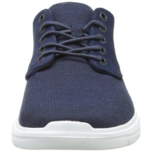 Vans Unisex Iso 2 (Prime) Dress Blues Leather Sneakers - 6 UK/India (39 EU)