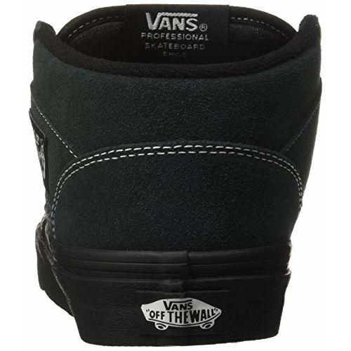Vans Unisex's Half Cab Outsole Darkest Spruce/Black Leather Sneakers-6 UK/India (39 EU) (VN0A348EU8U1)