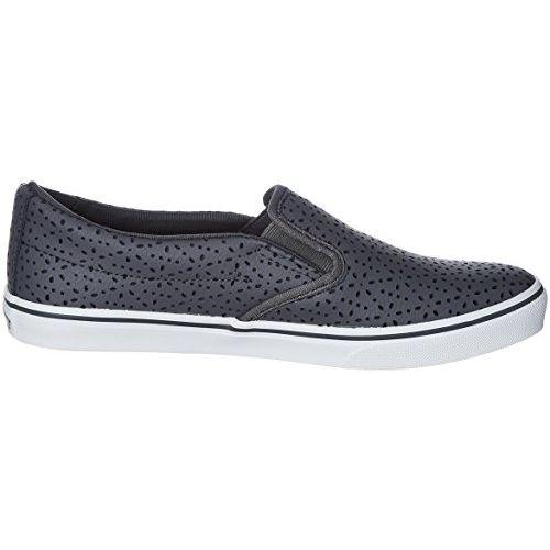Vans Women's Asher Low (Perf Flowers) Asphalt Sneakers - 2.5 UK/India (34.5 EU)