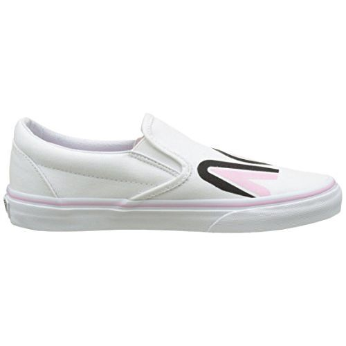 Vans Unisex Classic Slip-On (Sayings) True White Loafers and Moccasins - 9 UK/India (43 EU)