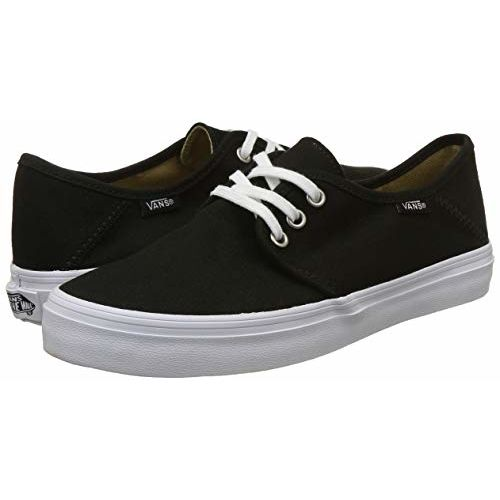 Vans Women's Tazie SF Black and White Sneakers - 2.5 UK/India (34.5 EU)