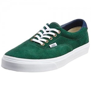 Vans Men's Era 59 Suede-Leather Pine Needle Canvas Sneakers - 11 UK