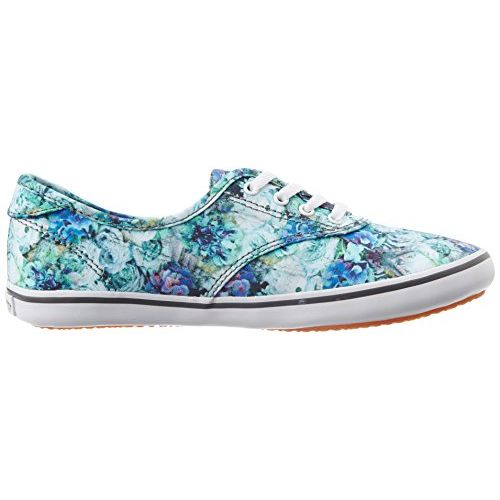 Vans Women's Floral Reflection and Mint Sneakers - [2.5 UK/India (34.5 EU) (5 US)]