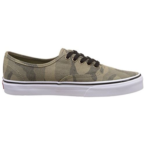 Vans Unisex Authentic Camo Jacquard, Raven and True White Sneakers - 7 UK/India (40.5 EU)