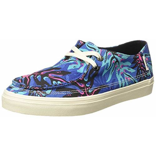 Vans Unisex's Rata Vulc SF Lapis Blue/Marshmallow Sneakers-7 UK/India (40.5 EU) (VN0A3MUYVS41)