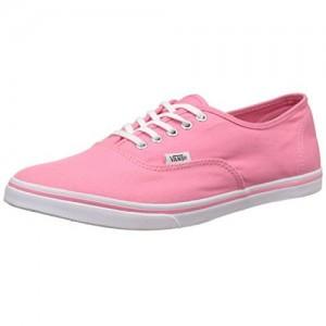 b522accbda Vans Unisex Authentic Lo Pro Strawberry Pink and True White Sneakers - 7 UK  India