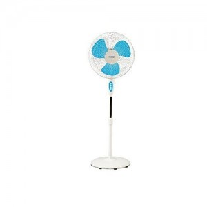 Usha Mist Air ICY 3 Blade 400MM Pedestal Fan (Blue)