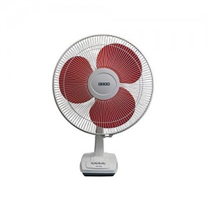 Usha Wind 3 Blade Table Fan (Orange, 400 mm)