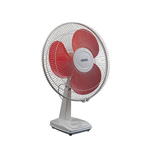 Usha Wind 3 Blade Table Fan (Orange, 400 mm)