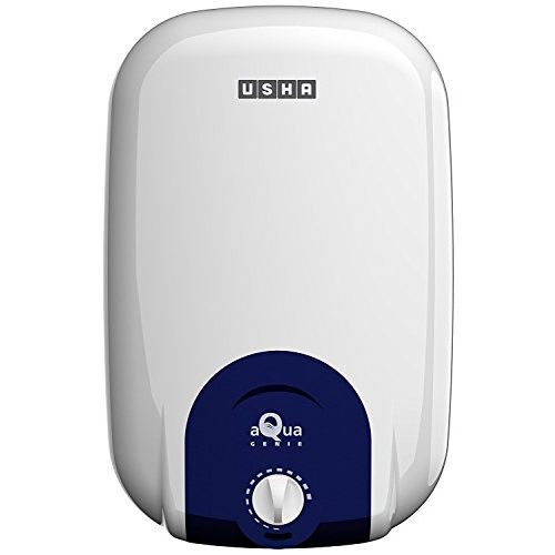 Usha Aquagenie 15-Litre 2000-Watt 5 Star Storage Water Heater (Solid CYAN)