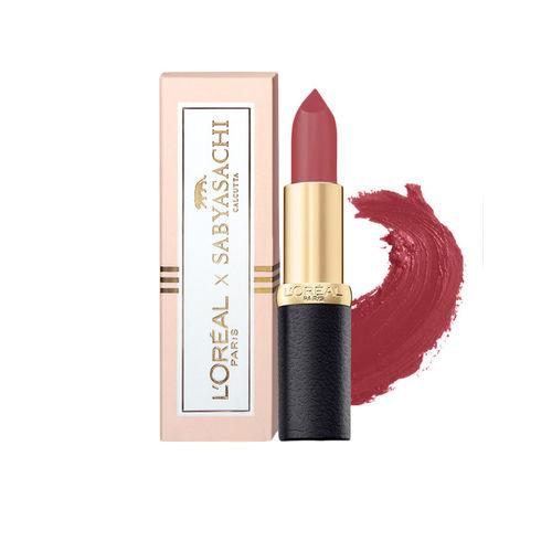 Buy LOreal Paris X Sabyasachi Rose Nuance Color Riche Moist Matte ...