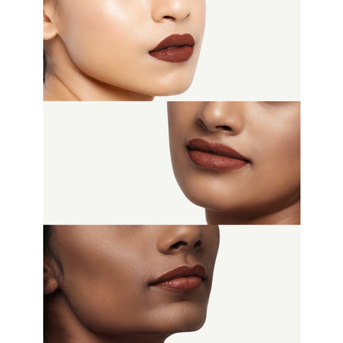 LOreal Paris X Sabyasachi Maple Mocha Skin Color Riche Moist Matte Lipstick 202