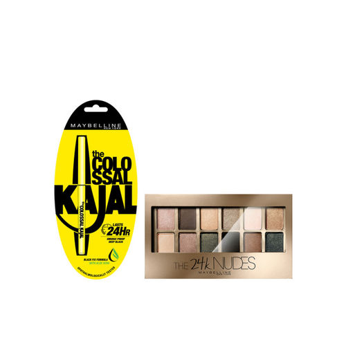 Maybelline Colossal Kajal & Gold Skin Color Palette Eyeshadow