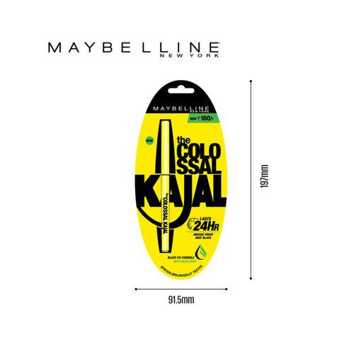 Maybelline Colossal Kajal & Gold Skin Color Palette Eyeshadow