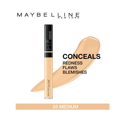 Maybelline New York Fit Me 25 Medium Concealer & Gold Skin Color Eyeshadow Palette