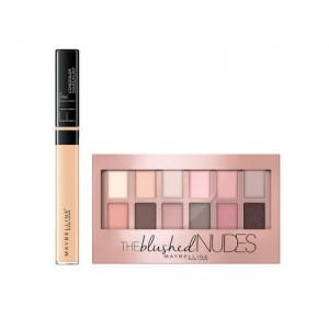 Maybelline New York Fit Me 20 Sand Concealer & Blushed Skin Colors Eyeshadow Palette