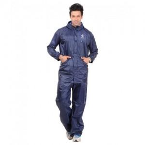 Allwin Polyester Plain Rain Suit With Cap