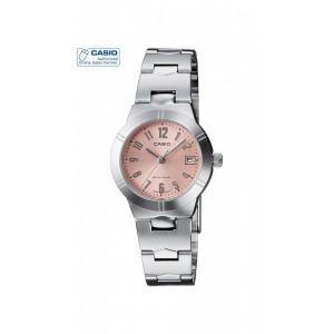 Casio ENTICER LTP-1241D-4A3DF Silver Analog Watch