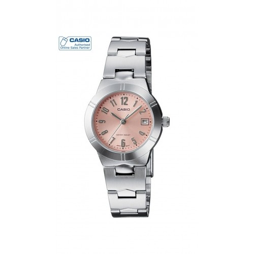 Casio ENTICER LTP-1241D-4A3DF Silver Analog Watch