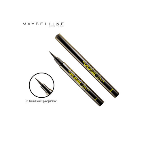 Maybelline The Colossal Liner & Intense Dark Chocolate Matte Nail Polish