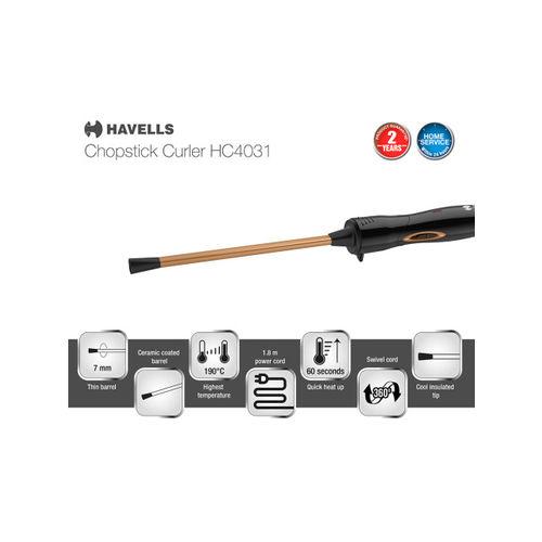 Havells Women Chopstick Hair Curler HC4031