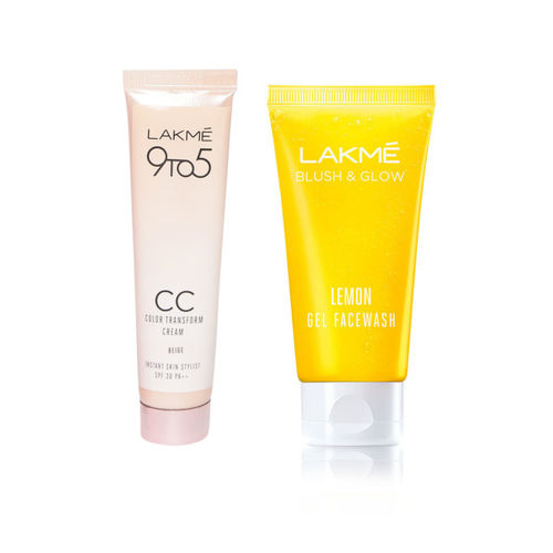 Lakme Set of CC Cream & Face Wash