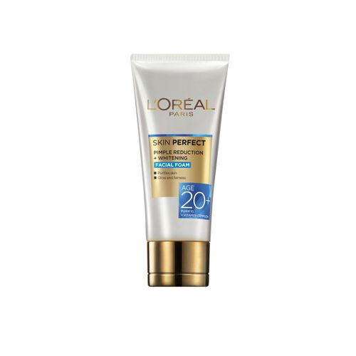 LOreal Paris Skin Perfect Pimple Reduction Plus Whitening Foam Face Wash & 30 + Day Cream