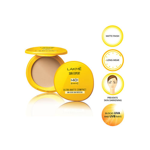 Lakme Eyeconic Curling Mascara & Sun Expert Ultra Matte Compact