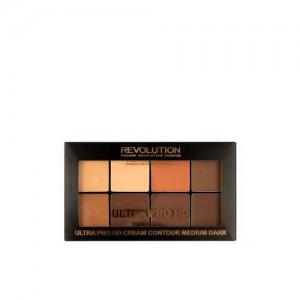 Makeup Revolution London Medium Dark HD Pro Cream Contour 20 g