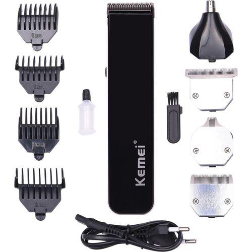 Kemei KM 3580 Grooming Kit Cordless Trimmer for Men(Black)