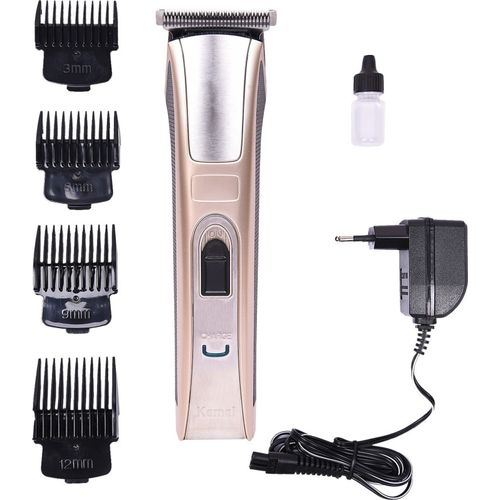 Kemei KM 5017 Pro Advance Cordless Trimmer for Men(Multicolor)