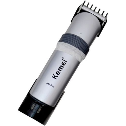 Kemei KM-699 Professional Rechargeable Hair Clipper K-619 Corded & Cordless Trimmer for Men(Silver)