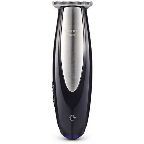 Kemei KM-616 Pro Advance Professional Cordless Trimmer for Men(Silver, Black)