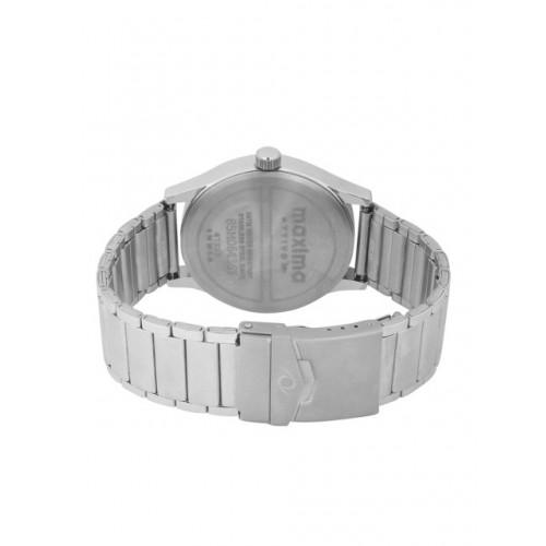 maxima Men Silver-Toned Analogue Watch 47215CMGI