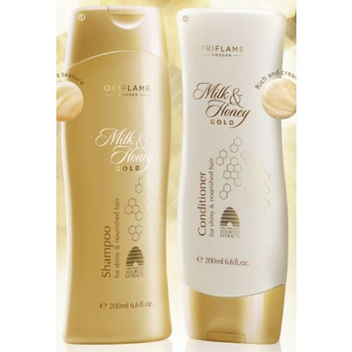 Oriflame Milk & Honey Shampoo and Conditioner(400 ml)
