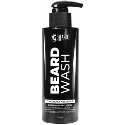 Beardo The Black Velvette Beard Wash(100 ml)
