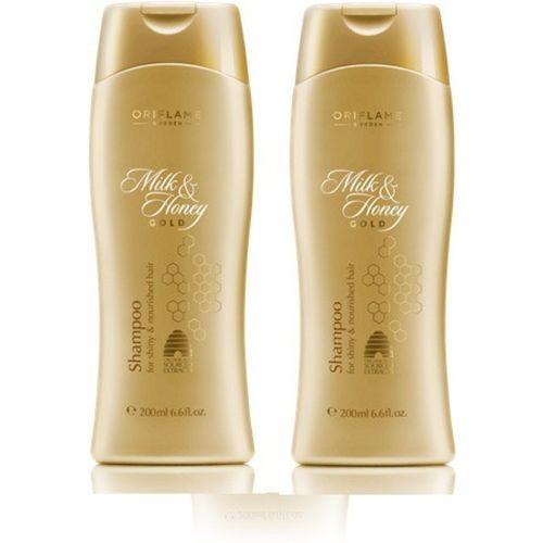 Oriflame Milk & Honey Shampoo ( Pack of 2)(400 ml)