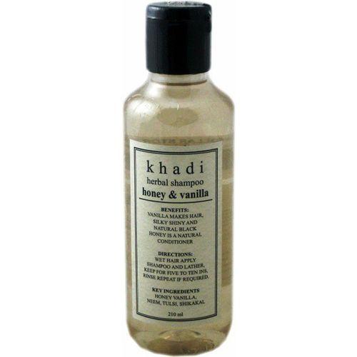 Khadi Herbal Honey & Vanilla Shampoo(210 ml)