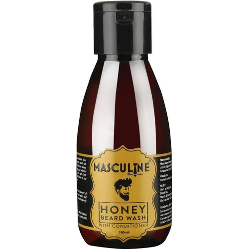 Masculine Honey Beard Wash with Conditioner(100 ml)