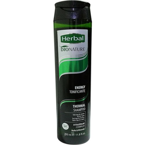 Herbal Bionature Oxygenating And Toning Thermal Shampoo(350 ml)