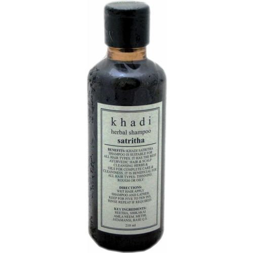Khadi Herbal Sat Ritha Shampoo(210 ml)