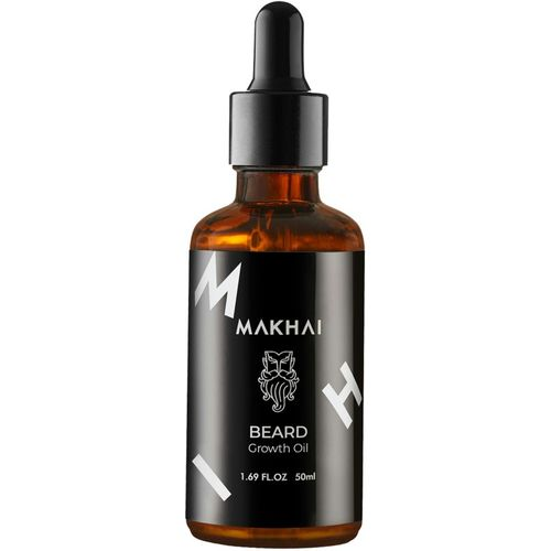 Makhai Beard , Moustache and Hair Growth Oil For Thick Strong healthy Beard Hair Oil(50 ml)
