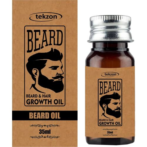 tekzon Beard Softener Soft, Shine & Growth Oil-35ml Hair Oil(35 ml)